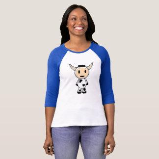 Camiseta Sherman o T clássico da vaca do Alasca para