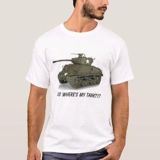 Camiseta Sherman, WTF onde está meu tanque?!?