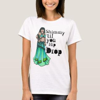 Camiseta Shimmy 'até você gota anca