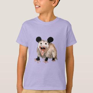 Camiseta shirt com opossum doce