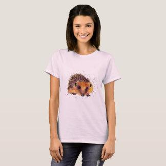 Camiseta shirt com ouriço handgemaltem velho com acordo de