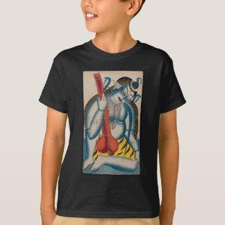 Camiseta Shiva intoxicado que guardara o cordeiro