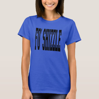 Camiseta shizzle do fo (preto)