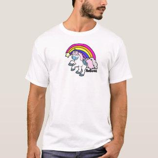 Camiseta Shooting Stars e unicórnios