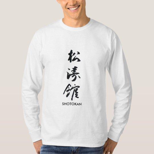 Camiseta Shotokan_kanji, SHOTOKAN