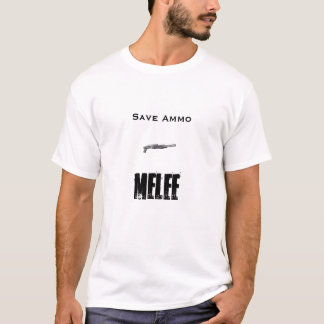 Camiseta shotty, munição das economias, tumulto