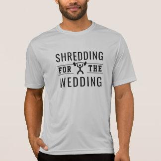 Camiseta Shredding para o casamento