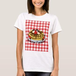 Camiseta Shrove terça-feira - panquecas