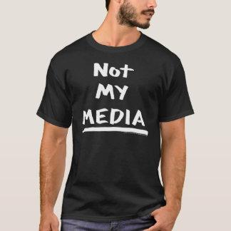 Camiseta ShrtNotMyMediaWhite