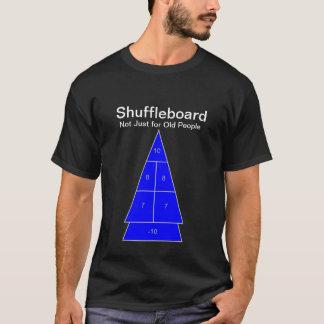 Camiseta Shuffleboard - não apenas para pessoas adultas