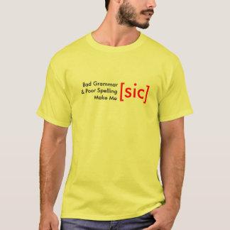 Camiseta [SIC] T-shirt