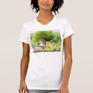Camiseta siciliano da paisagem