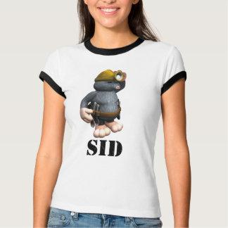 Camiseta Sid a toupeira