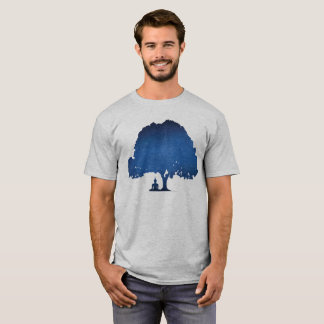 Camiseta Siddhartha sob a árvore de Bodhi