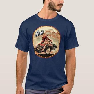 Camiseta Side-cars da motocicleta do vintage de Seib