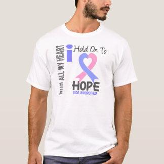 Camiseta SIDS que eu me aferro para esperar