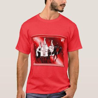 Camiseta Siga a estrela, vermelha