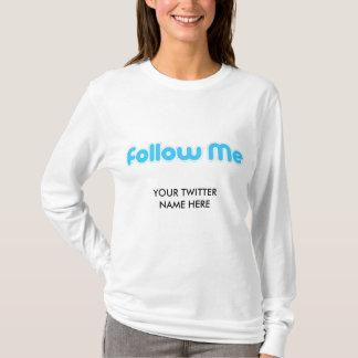Camiseta siga-me (o twitter)