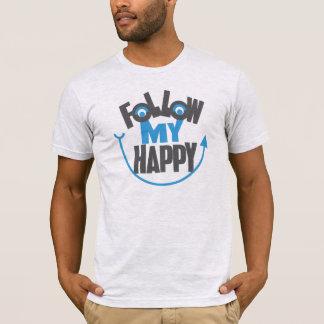 Camiseta Siga meu t-shirt feliz