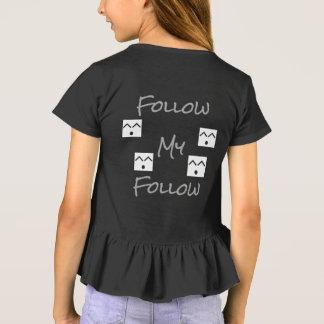 Camiseta Siga o meu seguem