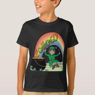 Camiseta Siga seu arco-íris