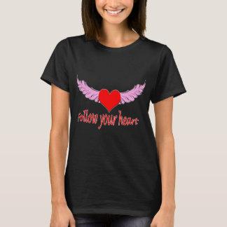 Camiseta Siga seu coração