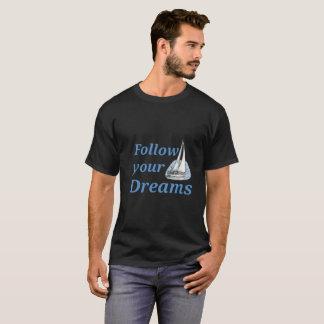 Camiseta Siga seus sonhos