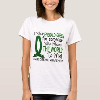 Camiseta Significa-me o mundo infecção hepática