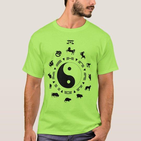 Camiseta Signos Chineses