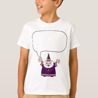 Camiseta Silêncio! O feiticeiro fala!