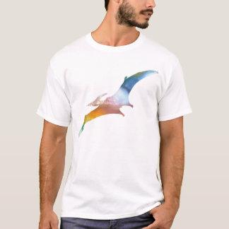 Camiseta Silhueta abstrata do Pterodactyl