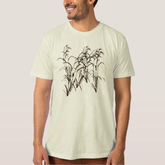 Camiseta Silhueta artística da cevada madura