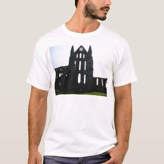 Camiseta Silhueta da abadia de Whitby