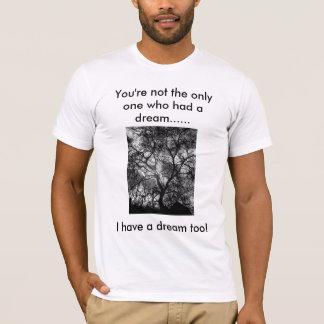 """Camiseta Silhueta da árvore do """"sonho"""""""