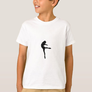 Camiseta Silhueta da dança