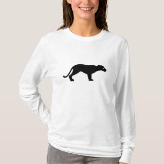 Camiseta Silhueta da pantera