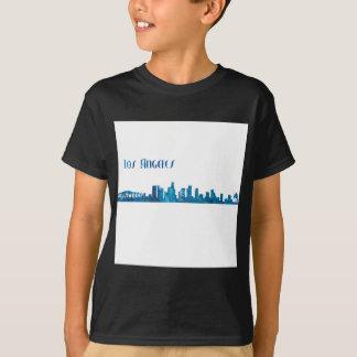 Camiseta Silhueta da skyline de Los Angeles
