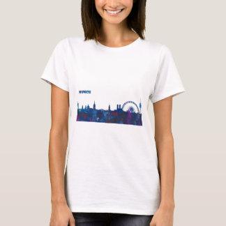 Camiseta Silhueta da skyline de Munich