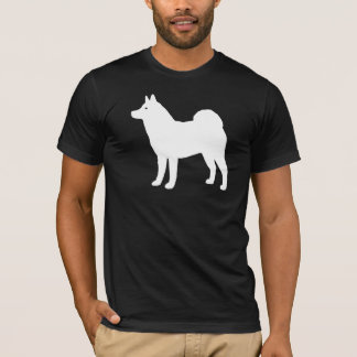 Camiseta Silhueta de Akita