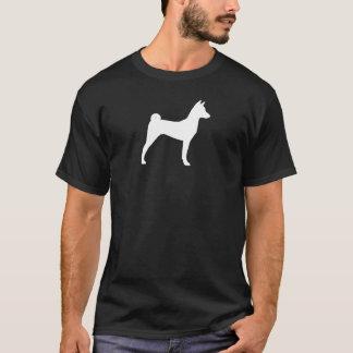 Camiseta Silhueta de Basenji