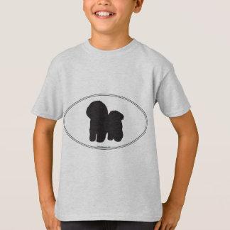 Camiseta Silhueta de Bichon Frise