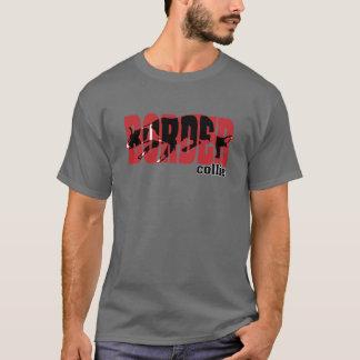 Camiseta Silhueta de border collie