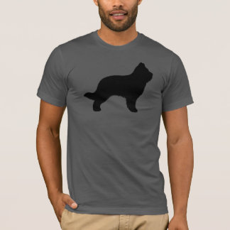 Camiseta Silhueta de Briard