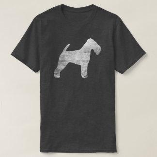 Camiseta Silhueta de galês Terrier