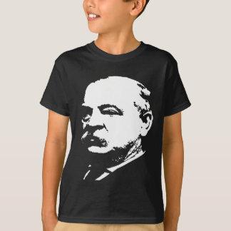 Camiseta Silhueta de Grover Cleveland