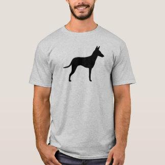 Camiseta Silhueta de Manchester Terrier