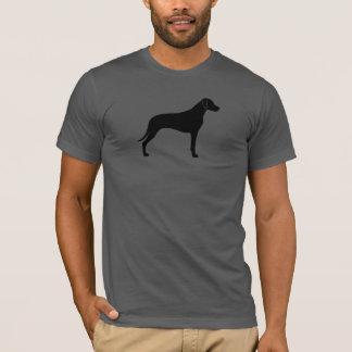 Camiseta Silhueta de Rhodesian Ridgeback