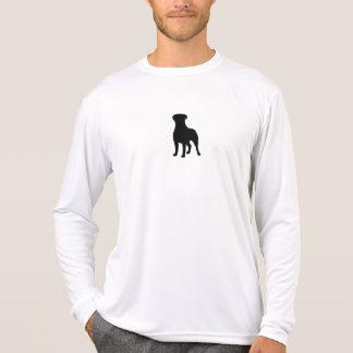Camiseta Silhueta de Rottweiler