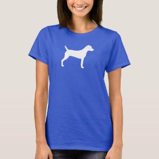 Camiseta Silhueta de Russell Terrier do Parson