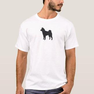 Camiseta Silhueta de Shiba Inu